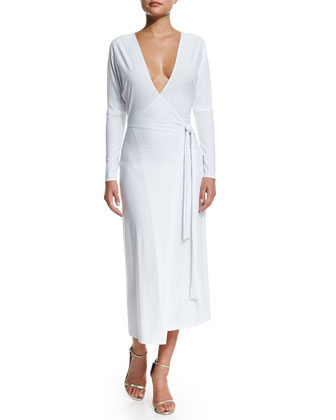 Dolman Front Back Coverup Wrap Dress