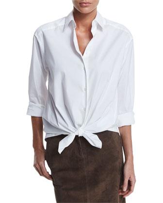 Leanne Long-Sleeve Blouse