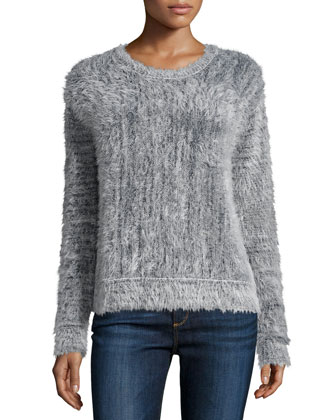 Carly Long-Sleeve Sweater, Multi Colors