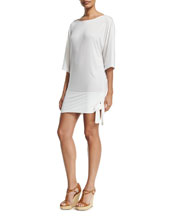 Side-Tie Coverup Tunic