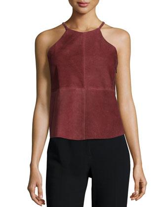 Lotta T-Back Camisole, Brick Red