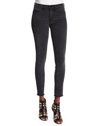 DENIM Le Skinny de Jeanne Ankle Jeans, Muddywaters Gray