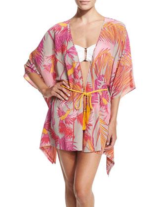 Clypso Printed Kimono Coverup