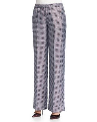 Circle Square Pajama Pants