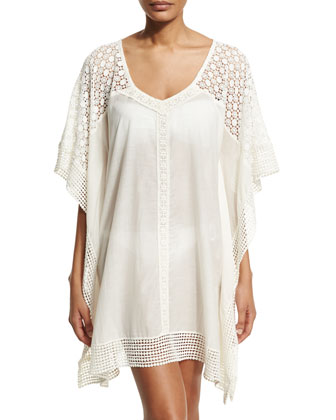 Fex Crocheted Short Tunic