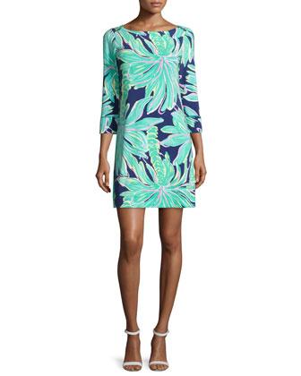 Sophie Floral-Print Jersey Dress