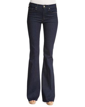 The Majorelle Flare Jeans, When Heaven Fell