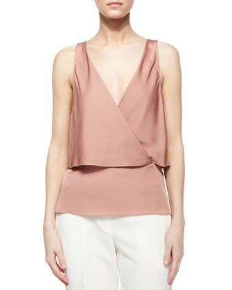 Alizay Modern Silk Top