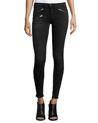 RBW 23 Skinny Ankle Jeans, Washed Black