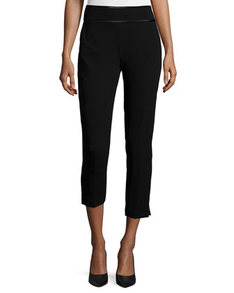 New Hayley Cropped Pants, Black