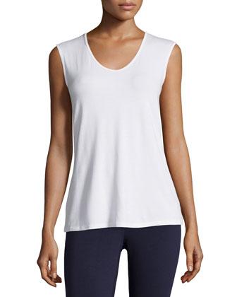High-Collar Stretch Jersey Jacket, Women's