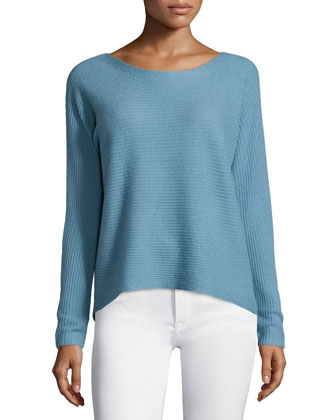 Kerenza Textured Cashmere Sweater