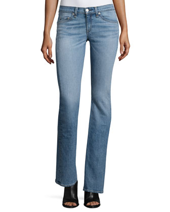 Mid-Rise Boot-Cut Jeans, Belgrave