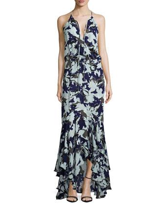 Francesca Sleeveless Maxi Dress, Belize