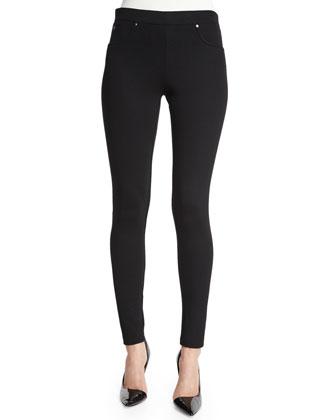 Ankle-Length Skinny Jean Leggings