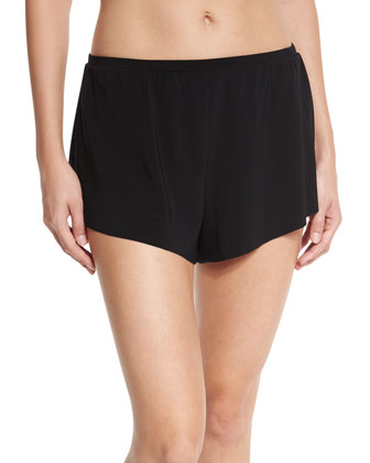 Jersey Tap Brief Swim Shorts