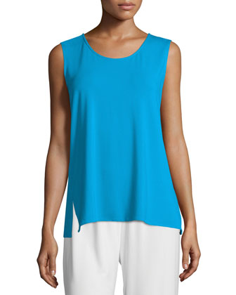 Rayon Knit Long Tank