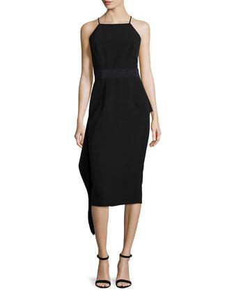 Cady Sleeveless T-Back Dress