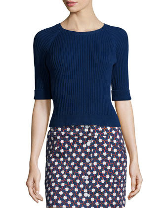 Twill Clover Skirt, Multicolor