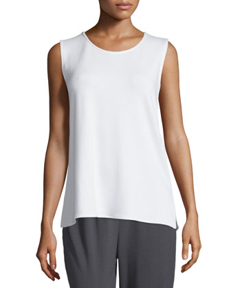 Sleeveless Terry Tank