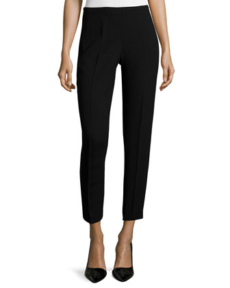 Marcia Slim Ankle Pants, Black