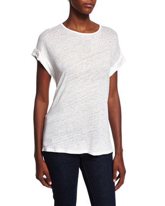 DENIM Le Muscle Round-Neck Tee