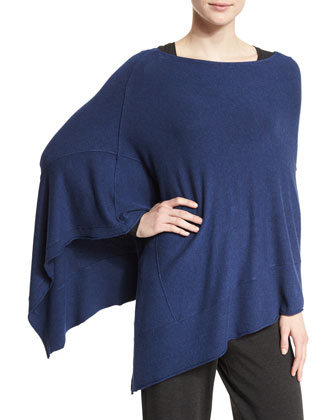 Lightweight Cozy Stretch Poncho