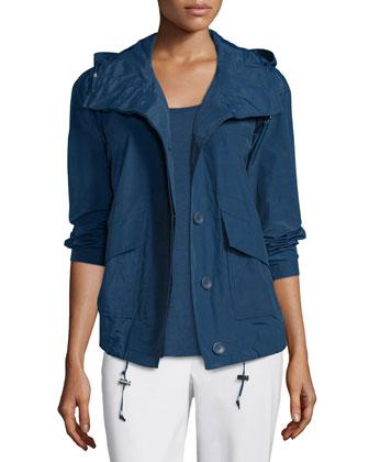Ako Hooded Weather-Resistant Jacket