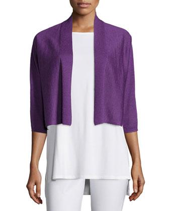 3/4-Sleeve Kimono Cardigan, Women's