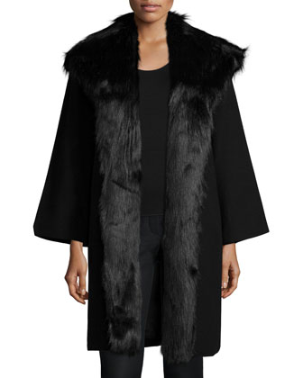 Altair Panno Long Jacket, Black
