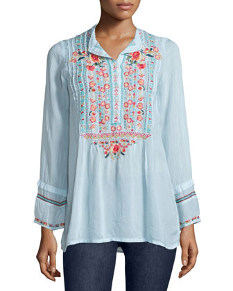 Catra Embroidered Tunic