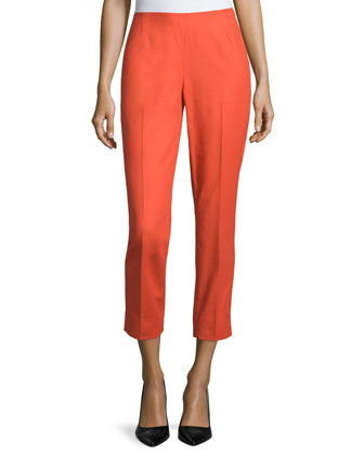 Stanton Slim-Fit Cropped Pants, Bonfire