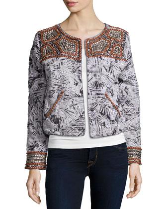 Djawan Embellished Jacket, Multi Colors