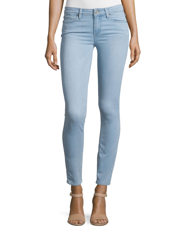 Verdugo Ultra Skinny Jeans, Blue, Women's, Size: 24 - Paige Denim