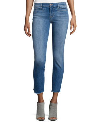 Paris Skinny Cropped Jeans, Deja