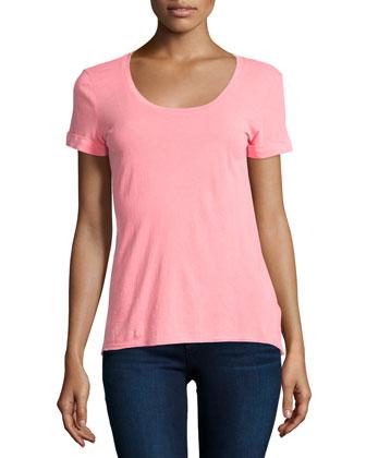 Vintage Whisper Short-Sleeve T-Shirt