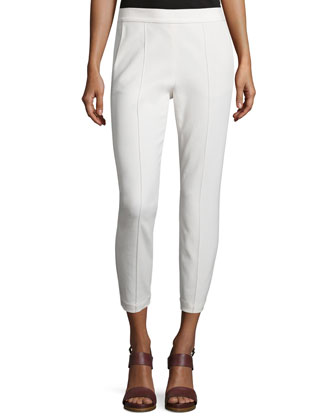 Easy Pull-On Pants, Ivory