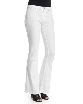 Ronen Sleeveless Scoop-Neck Top & Janice Flare-Leg Jeans