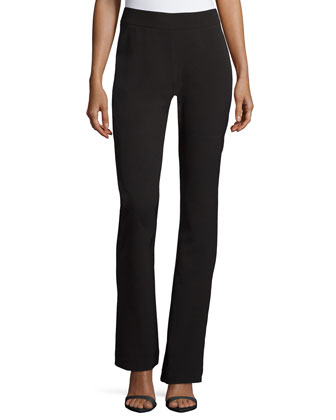 Paris Tailoring Flared Pants, Black