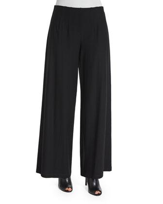 Long-Sleeve Asymmetric Top, Women's