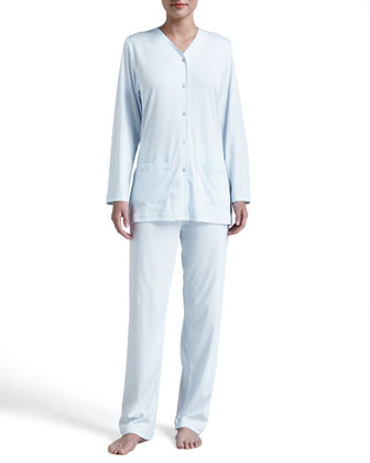Butterknit Pajamas, Blue