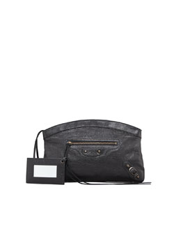 Balenciaga Classic Premier Clutch Bag, Black
