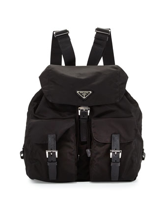 Vela Backpack, Black (Nero)
