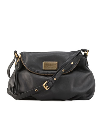 Classic Q Natasha Crossbody Bag, Black