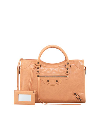 Classic City Bag, Rose Blush