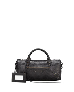 Balenciaga Classic Twiggy Satchel Bag, Black