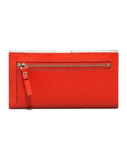 kate spade new york stacy mikas pond continental wallet