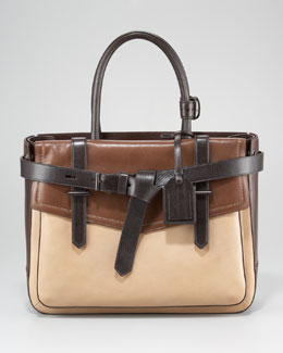 Reed Krakoff Boxer Tote Bag, Brown Multi