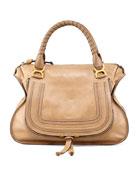 Marcie Large Shoulder Bag, Nut