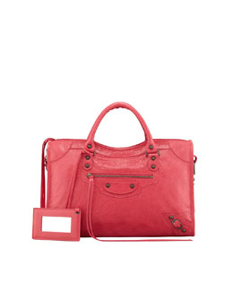Balenciaga Classic City Bag, Rose Thulian
